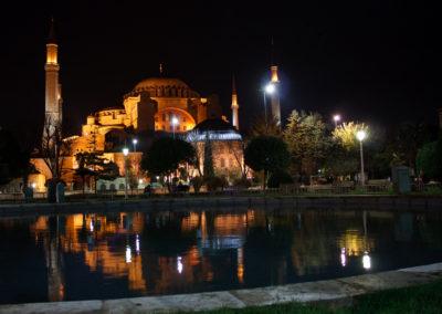 Hagia Sophia Reflection