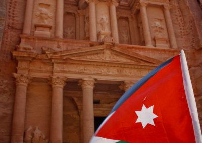 Flag at the Treasury